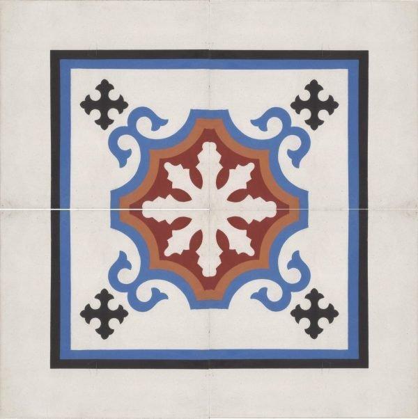 Moroccan Encaustic Cement Pattern 102b