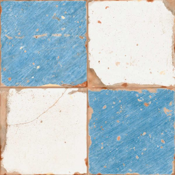 Artisan Damero Glazed Ceramic 33cm x 33cm