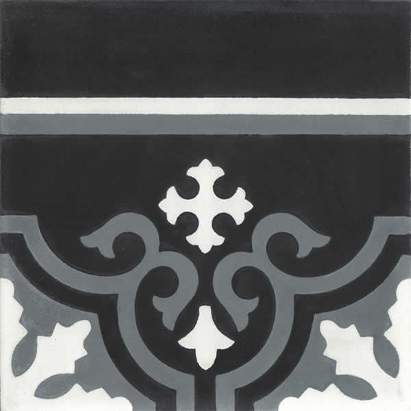 Moroccan Encaustic Cement Pattern 103a