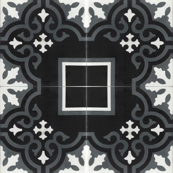 Moroccan Encaustic Cement Pattern 103c