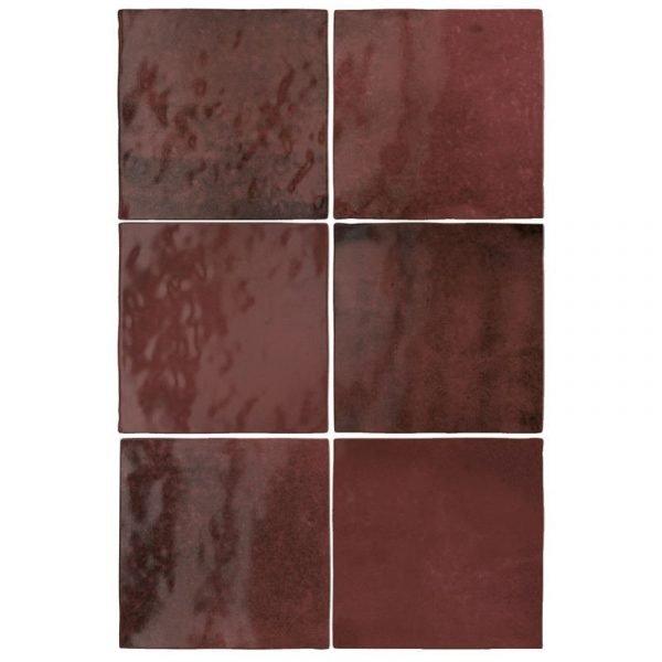 Artisan Burgundy 13.2cm x 13.2cm