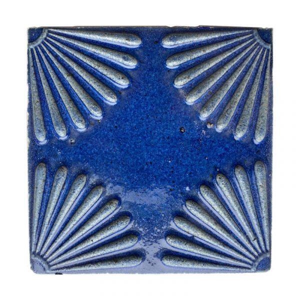 Zellige Daisy Blue 15cm x 15cm