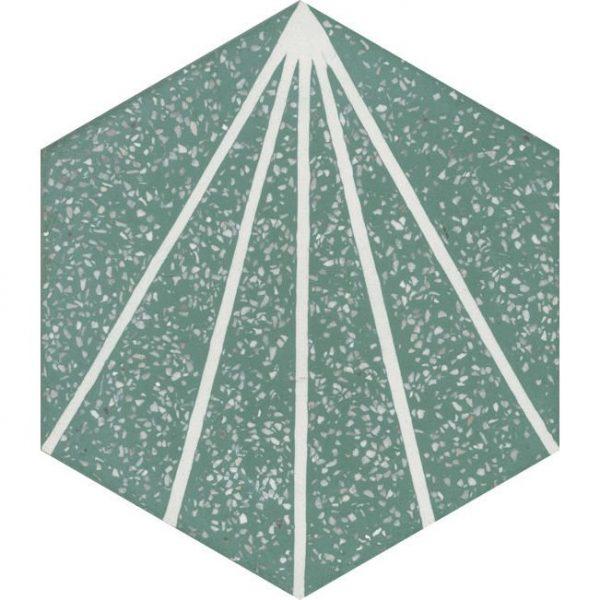 Moroccan Encaustic Cement Hexagonal Terrazzo 15
