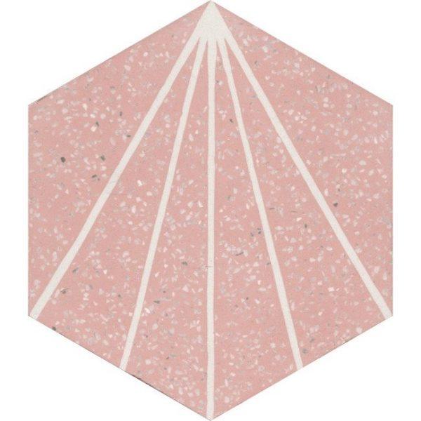 Moroccan Encaustic Cement Hexagonal Terrazzo 23