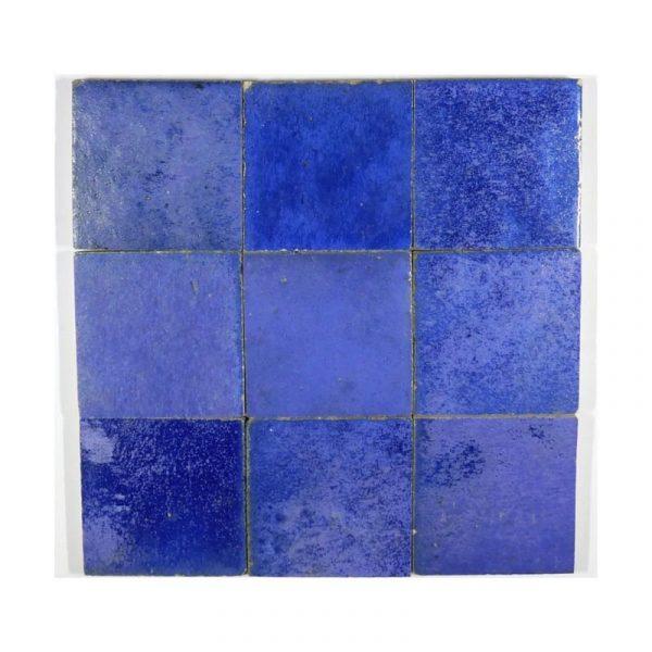 Zellige Blue 10cm x 10cm