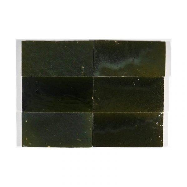 Zellige Celadon 15cm x 7.5cm