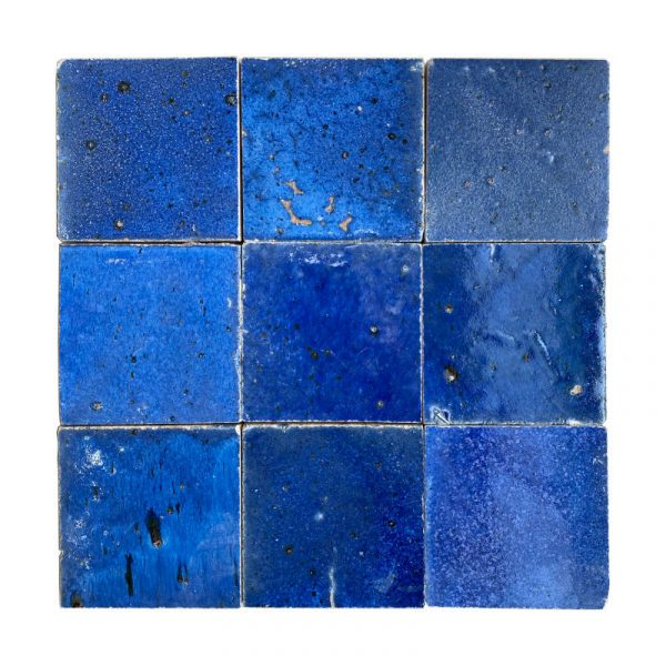 Zellige Dark Blue 10cm x 10cm